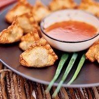 Crab Stuffed Wontons recipe