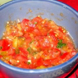 Leelushkas Spicy  Eggplant Tomato Spread recipe