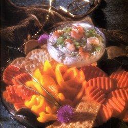 Shrimp Dip With Crudites recipe