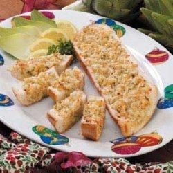 Appetizer Artichoke Bread recipe