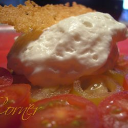 White Tomato Foam recipe