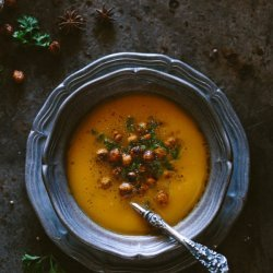 Chickpea and Potato Soup recipe