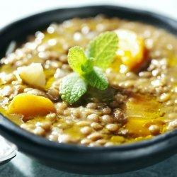 Sweet Potato and Lentil Soup recipe