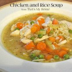 Chicken and Rice Soup recipe