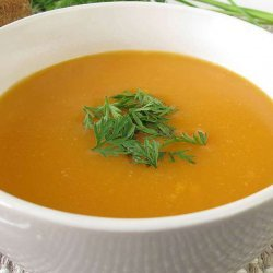 Coconut Carrot Soup recipe