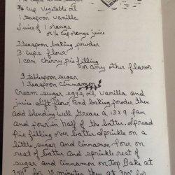 Fruit Filled Coffee Cake recipe