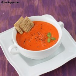 Red Bell Pepper Soup recipe