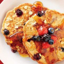 Fruit and Nut Pancakes recipe