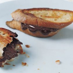 Fried Bittersweet Chocolate Bread recipe