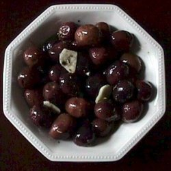 Roasted Olives With Fennel And Lemon recipe