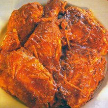 Chicken In A Hot Red Sauce recipe
