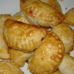 Empanadas With Goat Cheese Black Beans And Sweet P... recipe