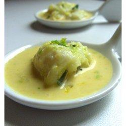 Coconut Ceviche Appetizer Spoons recipe