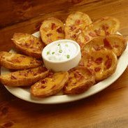 Potato Skins With Bacon Amp Cheese recipe