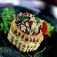 Chicken Puffs Basket recipe