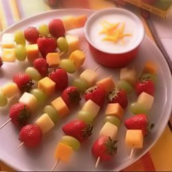 Fruit And Cheese Dippers For Kids recipe