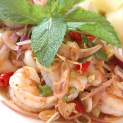 Thai Style Shrimp Salad With Lemongrass recipe