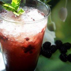 Blackberry Lime Fizz recipe