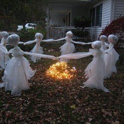 Halloween Lawn Ghosts recipe