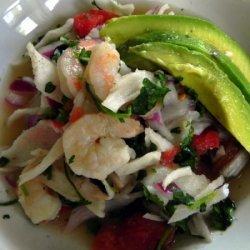 Crab And Shrimp Ceviche recipe