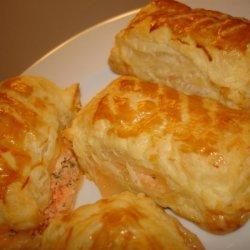 Double Salmon Puffs recipe