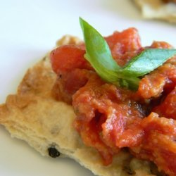 Caramelized Tomato And Courvoisier Canapes recipe