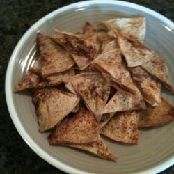 Baked Lime-chipotle Tortilla Chips recipe