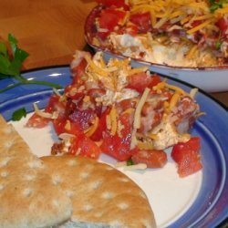 Hot 'n Spicy Bean And Cheese Dip recipe