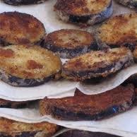 Grandma's Fried Eggplant recipe