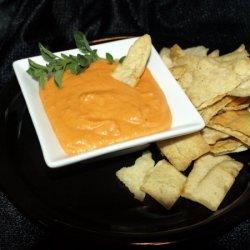 Fire Roasted Red Pepper Hummus recipe