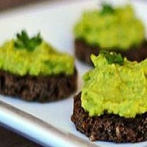 Edamame Or Pea & Avocado Hummus Dip recipe