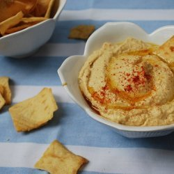 Roasted Red Bell Pepper Hummus recipe