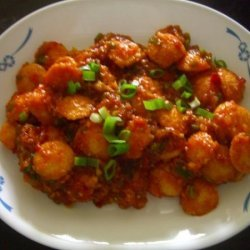 Cocktail Idli Manchurian recipe