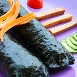 Vegan Seaweed Rolls recipe