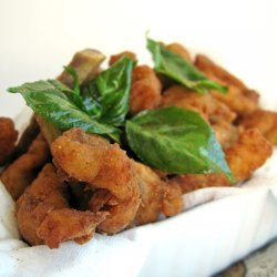 Five Spices Fried Chicken Strips recipe