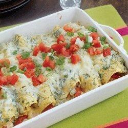 Chicken Enchiladas Suizas recipe