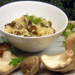 Wild Mushroom And Fennel Risotto recipe