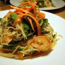 Vietnamese Inspired Noodles With Cilantro And Asar... recipe