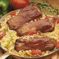 Pork Ribs N Rice recipe