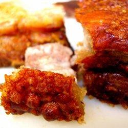 Crispy Chinese Roast Pork recipe