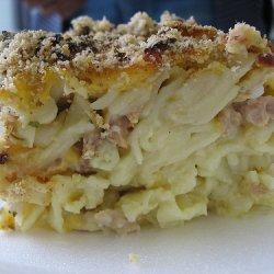 1950s Tuna Noodle Casserole recipe
