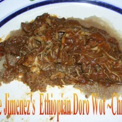 Anniez Ethiopian Doro Wat  Chicken recipe
