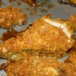 Oven Fried Ranch Dressing Chicken recipe