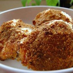 Oven Deviled Or Oven Friedchicken recipe
