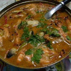 Thai Tom Yum Goong recipe