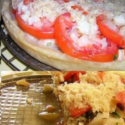 Shrimp And Scallop Tart recipe