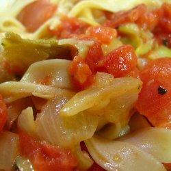 Tomato And Artichoke Pasta recipe