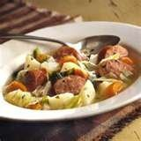 Kielbasa And Potatoe Stew recipe