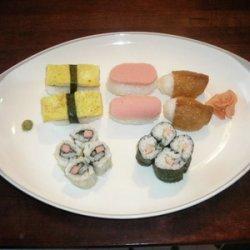 Variety Of Sushi recipe