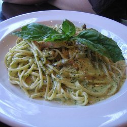 Pasta With Chicken And Pesto recipe
